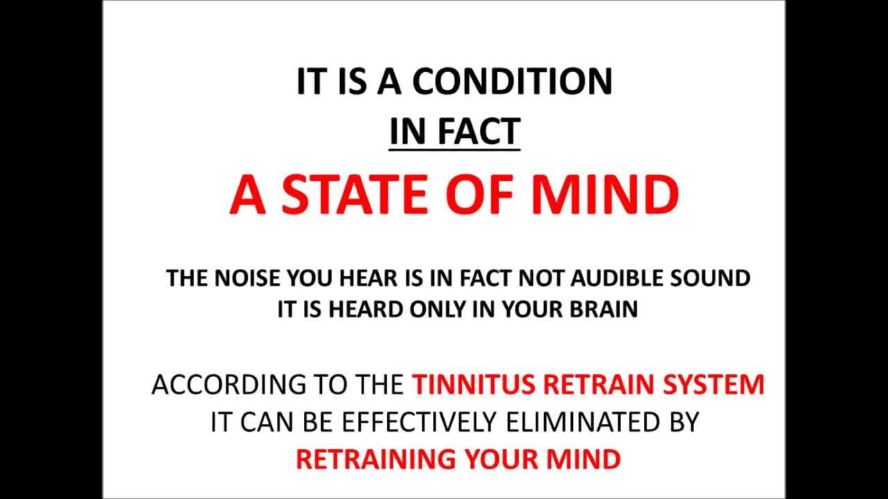 Tinnitus Retraining Therapy - Tinnitus Retrain System