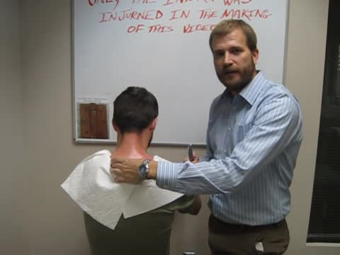 Upper Back Pain Treatments with Graston Technique