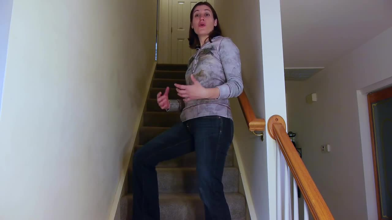 Going Up & Down Stairs Safely with an Injured Leg - Ask Doctor Jo