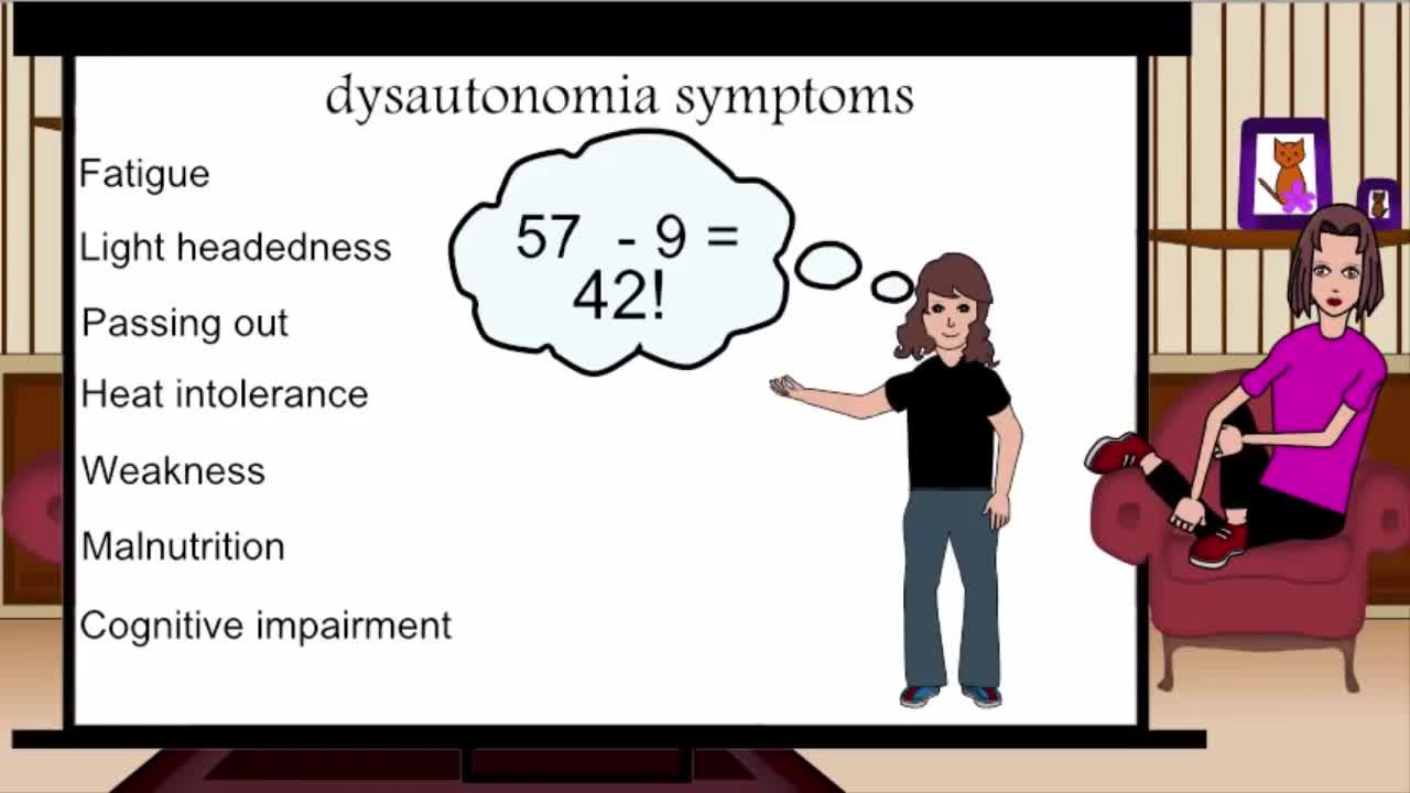Dysautonomia, an invisible illness