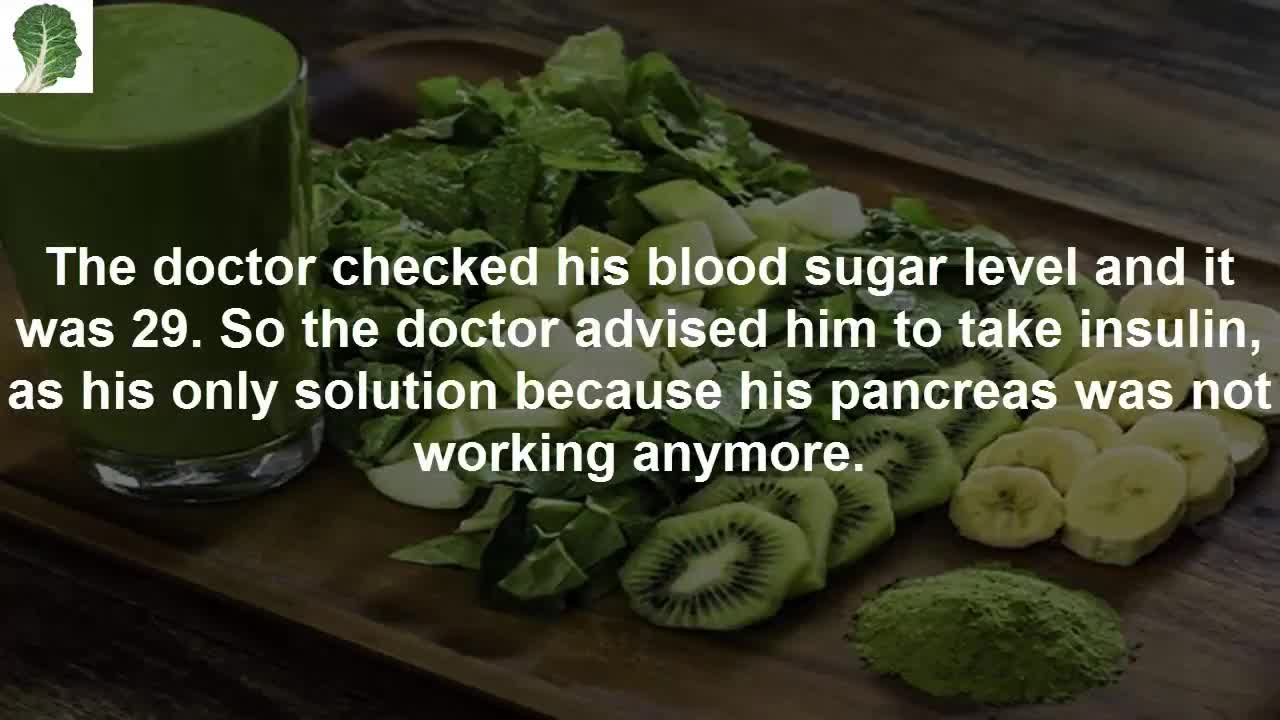 This Man Said Goodbye To Diabetes Without Using Medicine. He Consumed Only…!