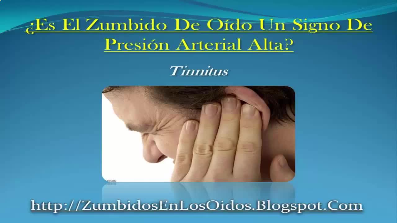 Zumbido De Oido Como Un Signo De Hipertension | Is The Buzz Ear A Sign Of High Blood Pressure