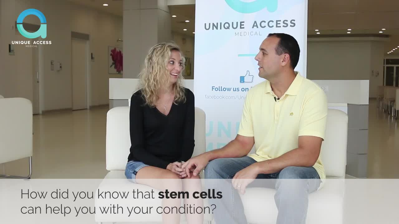 Emma, ALS Patient, Talks about Her Stem Cell Treatment and Improvements